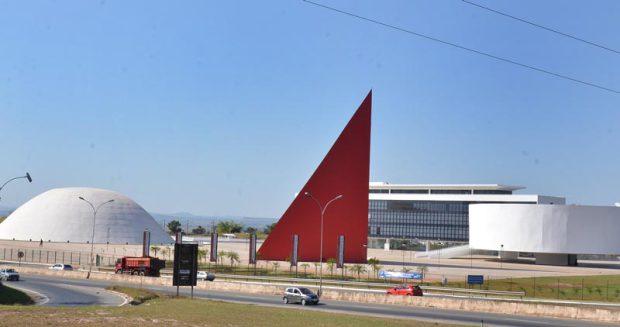 Centro Cultural Oscar Niemeyer, em Goiânia: uma das principais promessas, a biblioteca, até agora não saiu do papel
