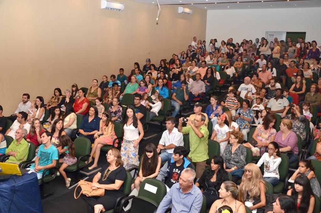 Público presente da última edição do Super Leitores. (Foto: Divulgação)