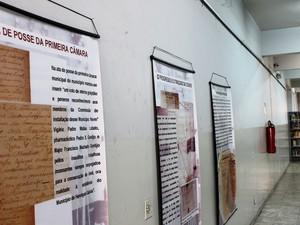 Exposição poderá ser visitada durante o mês de junho (Foto: Pablo Santos)