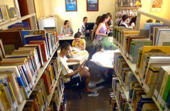 Biblioteca Municipal Adelpho Poli Monjardim (Foto: Divulgação / Prefeitura)