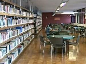Biblioteca Municipal tem acervo de 80 mil livros para empréstimo (Foto: Reprodução/ TV Integração)