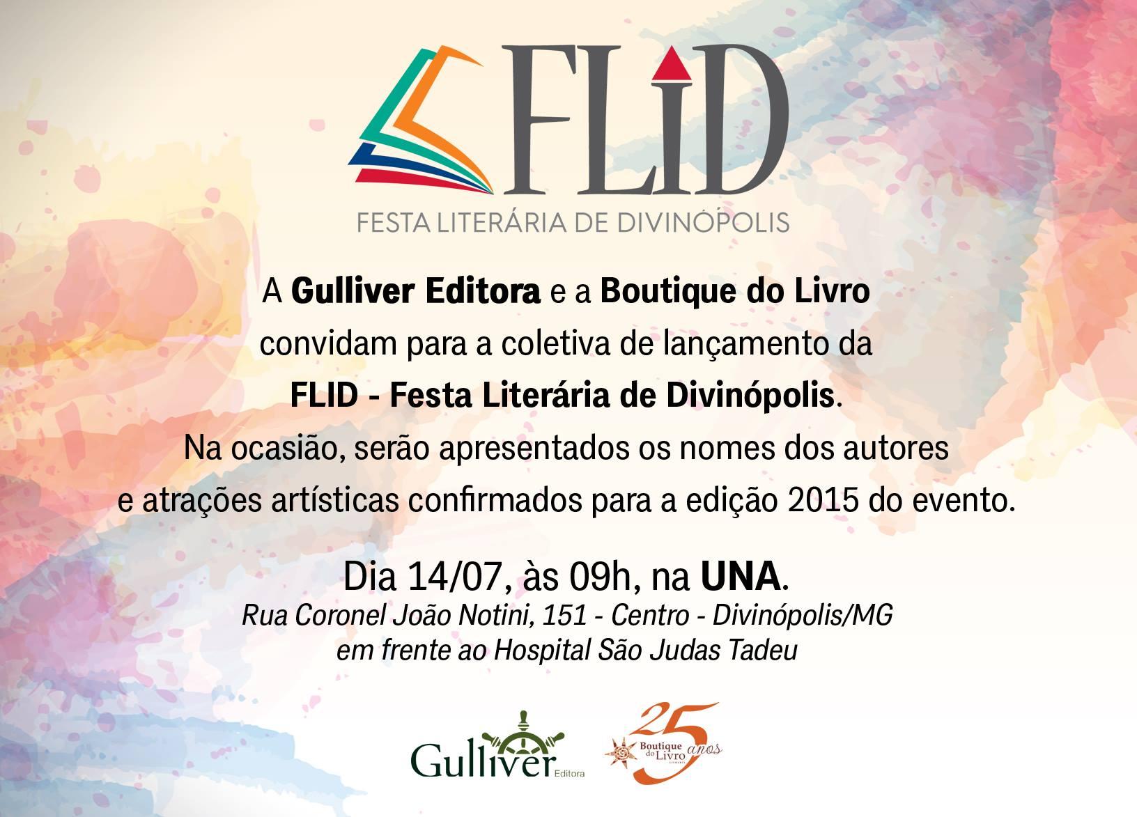 Festa Literária de Divinópolis