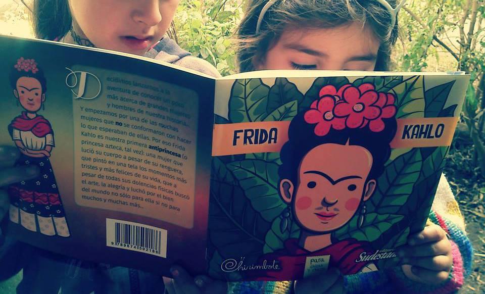 """""""Antiprincesas"""" contou a história de Frida Kahlo (Foto: Chirimbote)"""