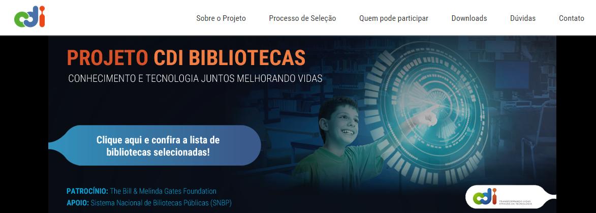NOTA 1.3 - Projeto CDI Bilbiotecas