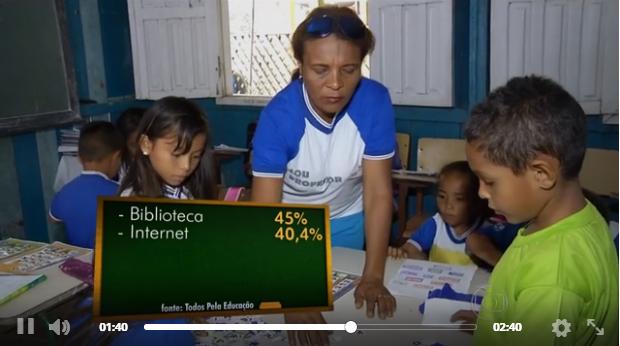 Clique na foto para ver o vídeo (Imagem: Reprodução TV Globo/G1)