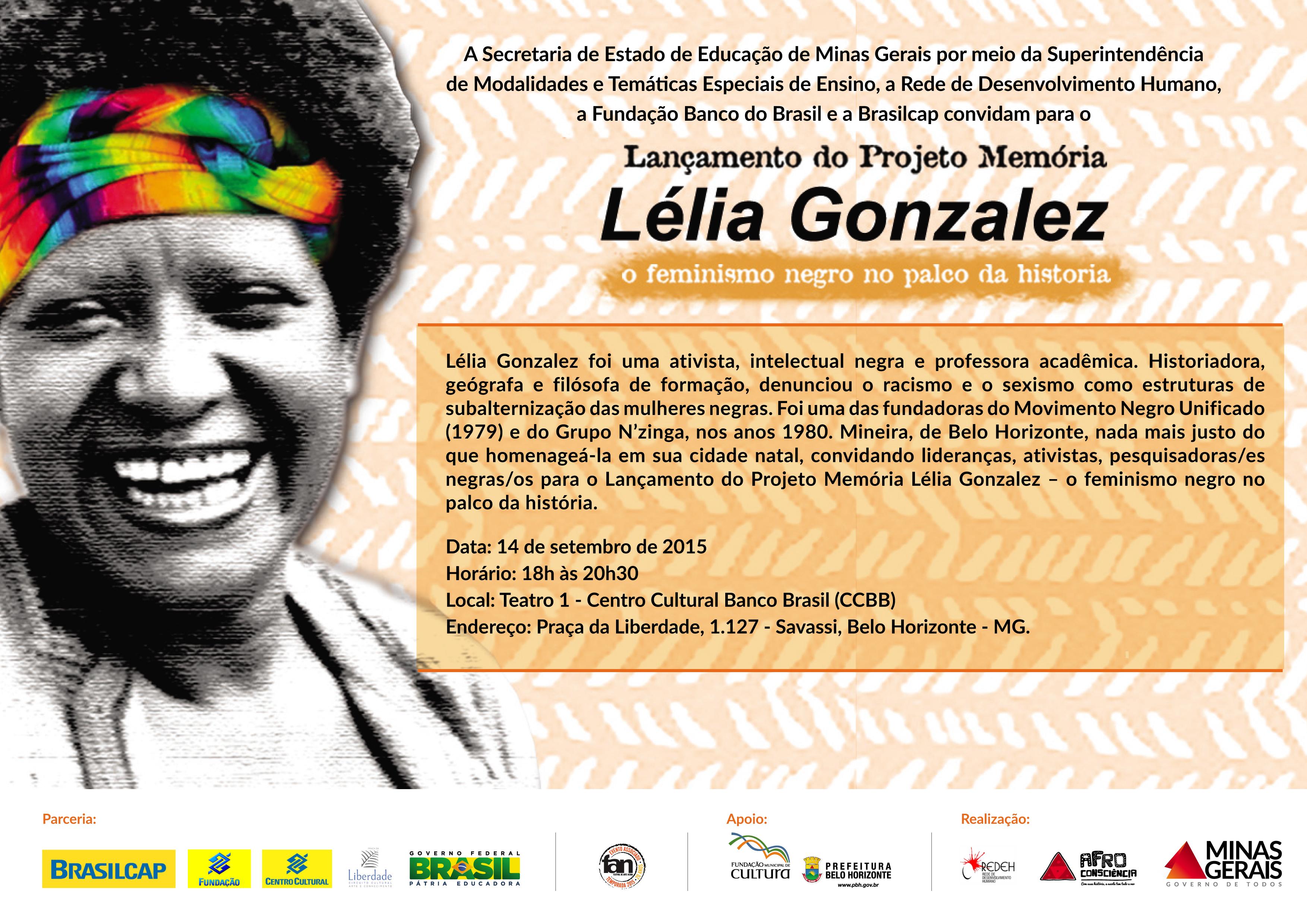 Projeto Memória Lélia Gonzalez