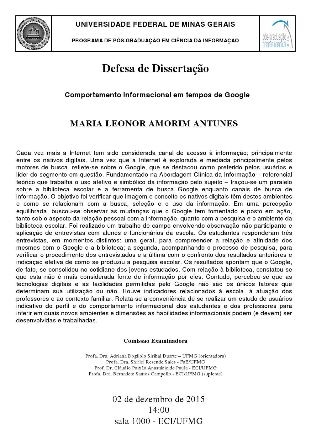 Defesa Maria Leonor Amorim Antunes