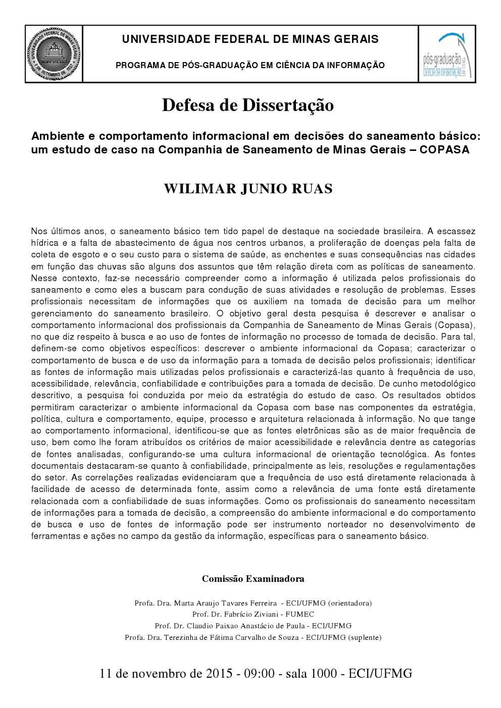 Defesa Wilimar Junio Ruas