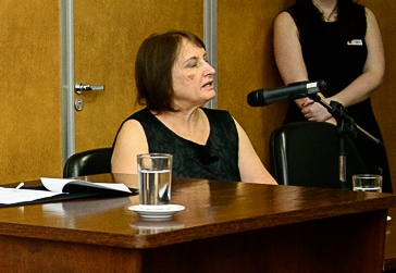 Regina Célia de Souza, presidente do Conselho Federal de Biblioteconomia (CFB). Foto: Foto: SECOM/TRT-MG