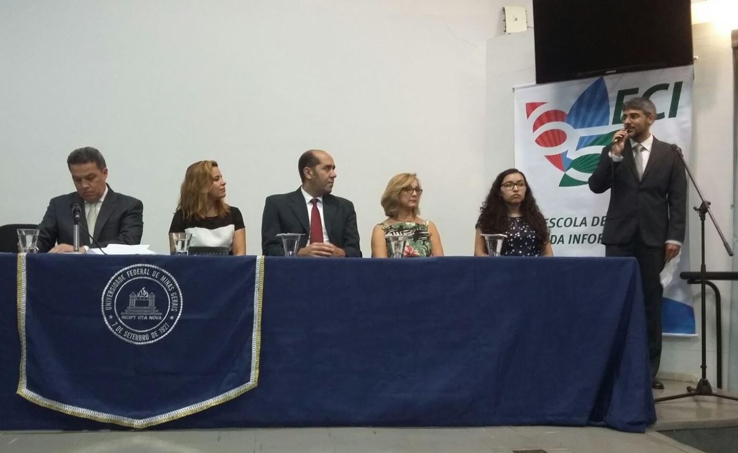 Evento na universidade contou com a presença de autoridades da área (Foto: Reprodução/Facebook)