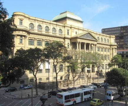 Fachada principal da Fundação Biblioteca Nacional (Foto: Reprodução)