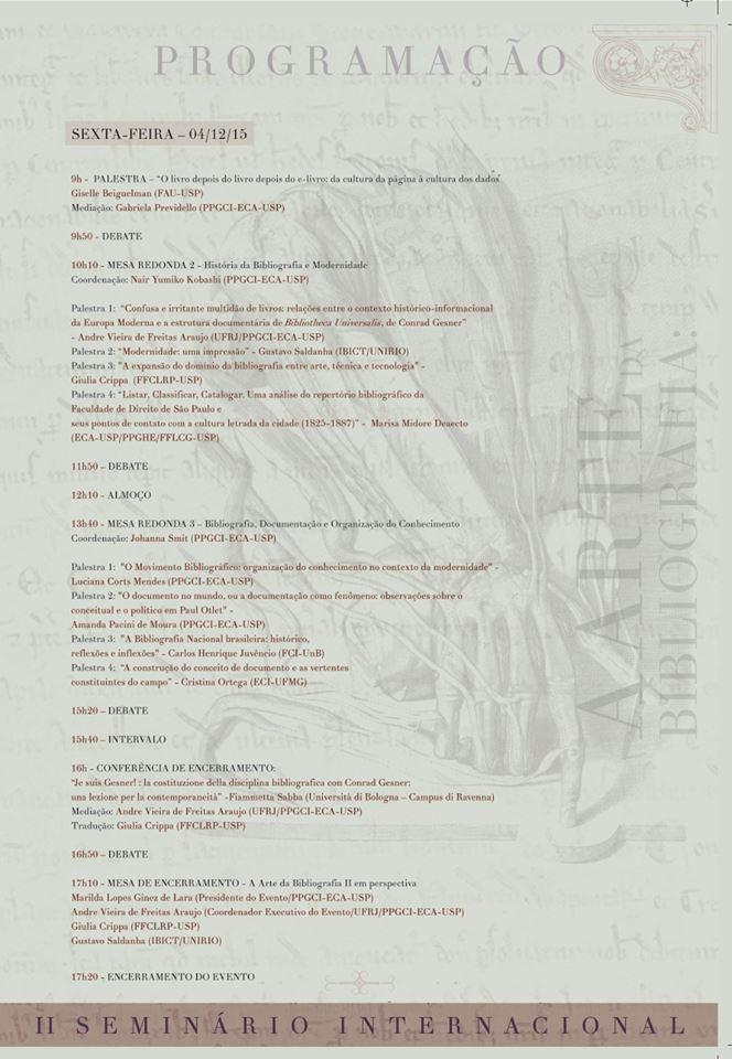 II Seminário Internacional A Arte da Bibliografia 4