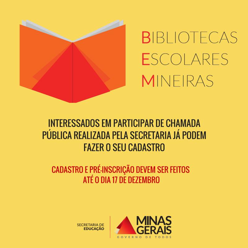 Bibliotecas Escolares Mineiras