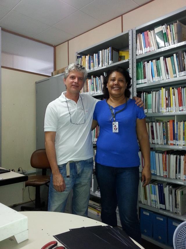 Rosângela Alves, na Secretaria Municipal Adjunta de Assistência Social