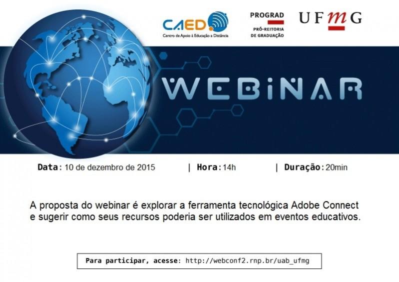 Webinar Webconferência na Educação