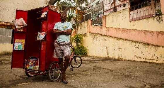 Guilherme Roberto, fundador da Livreteria (Fonte: Victor Soares)