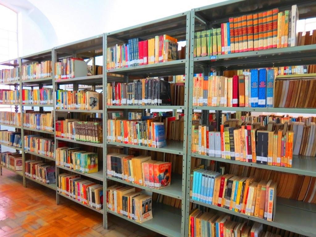 Acervo oferece mais 50 mil livros a leitores da cidade (Foto: Caçadores de Bibliotecas)