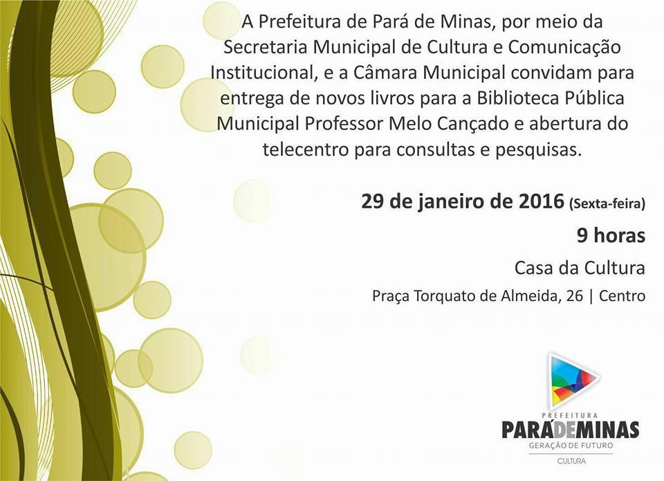 Telecentro da Biblioteca Pública Municipal Professor Mello Cançado