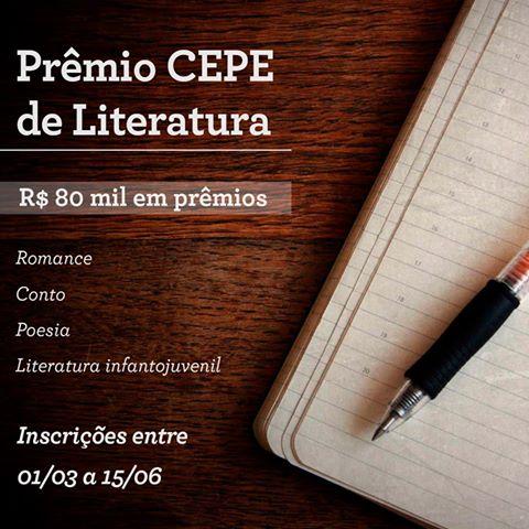 2º Prêmio Nacional Cepe de Literatura