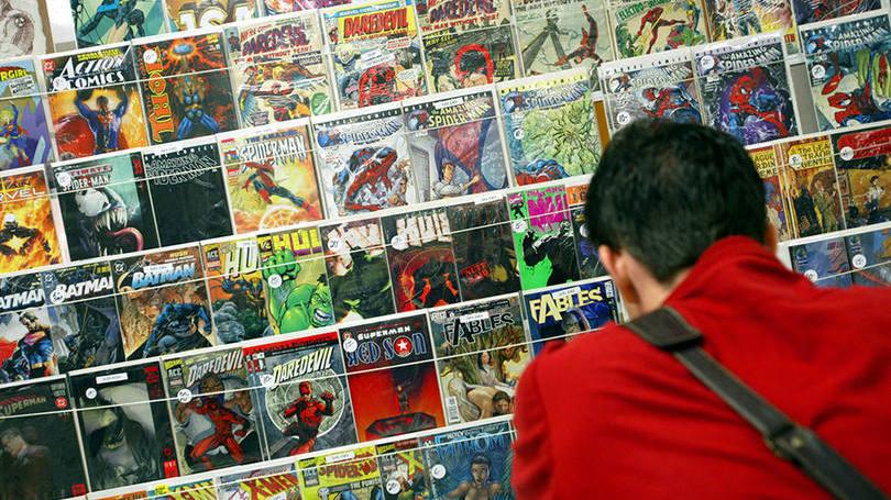 Loja de quadrinhos: o Social Comics quer revolucionar a experiência do usuário em um mercado tradicional (Foto: Chris Hondros/Getty Images)