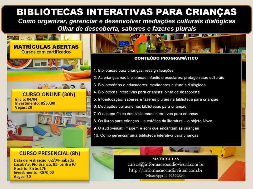 Bibliotecas Interativas para Crianças