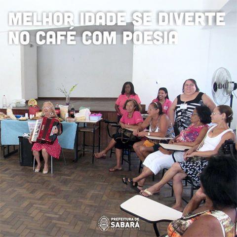 Café com Poesia Sabará