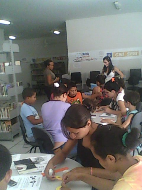 A oficina de bisqui atraiu muitos participantes (Foto Divulgação)