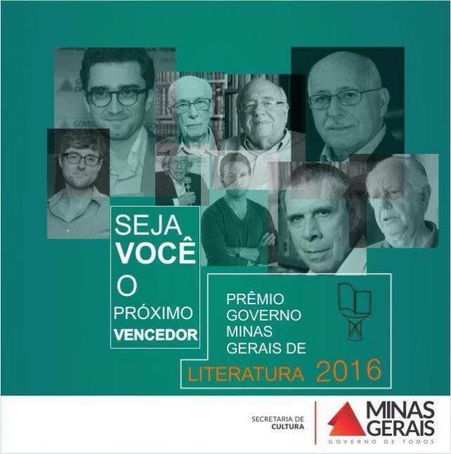 Prêmio Governo de Minas Gerais de Literatura 2016
