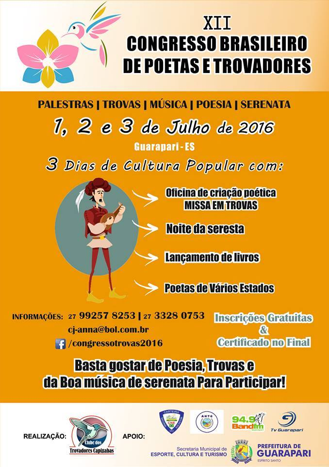 XII Congresso Brasileiro de Poetas e Trovadores