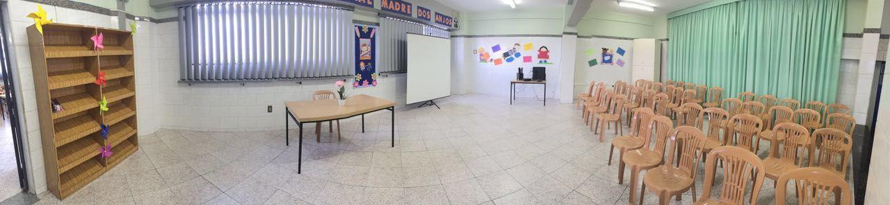 Ambiente reformado da Biblioteca Madre dos Anjos (Foto: Divulgação)