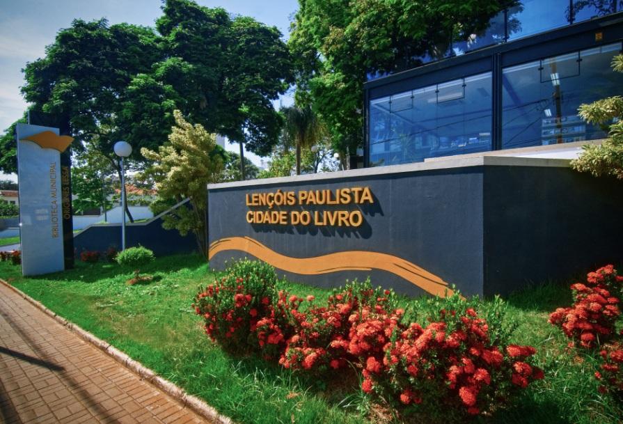 Cidade Lençóis Paulista também conhecida como Cidade do Livro (Foto: Divulgação)
