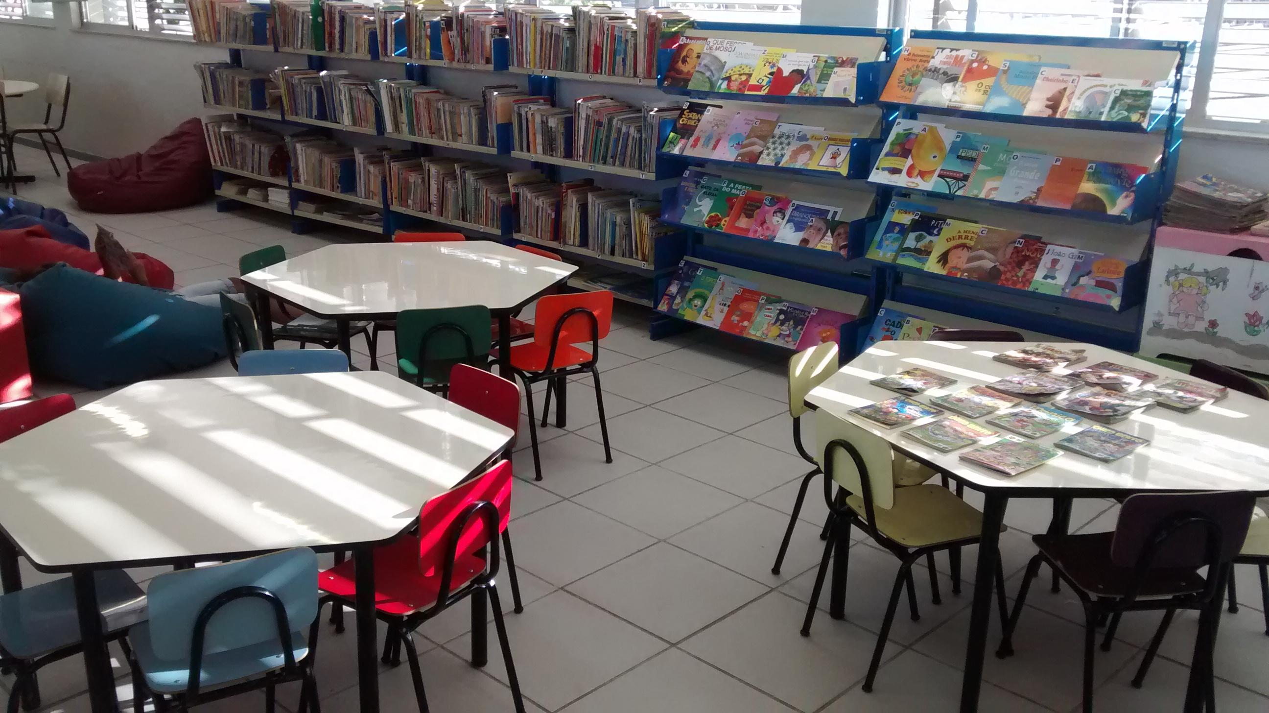 A Biblioteca Lúcia Monteiro Casasanta foi planejada pelo bibliotecário Ivo Funghi Baía, que criou locais adequados a cada atividade oferecida (Foto: Divulgação)
