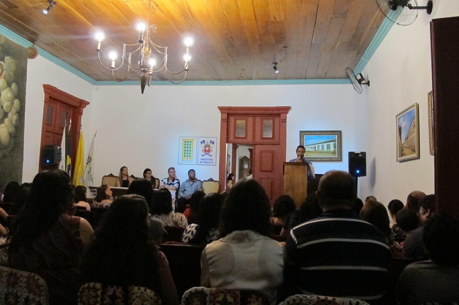 Moradores compareceram ao evento em homenagem a leitores assíduos (Foto: Divulgação)