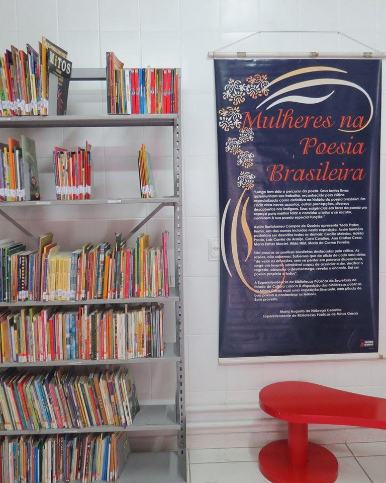 Biblioteca promove atividades para desenvolvimento sociocultural (Foto: Divulgação)