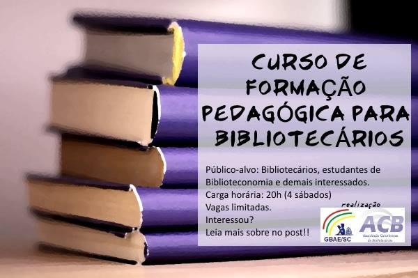 Formação Pedagógica para Bibliotecários
