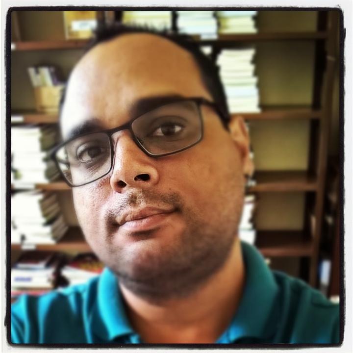 O bibliotecário Maurício Amormino Junior, criador do grupo no Facebook (Foto: Divulgação)