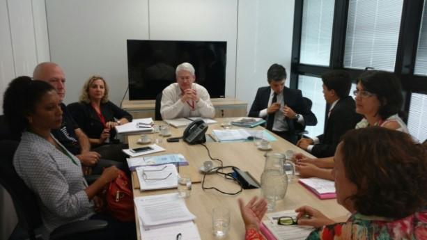 Representantes do CRB-6 reúnem-se com Governo de Minas Gerais para tratar das designações nas escolas públicas estaduais (Foto: Divulgação)