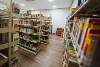 Biblioteca Municipal ganhou uma sede própria Foto: Prefeitura de Vitória - Diego Alves