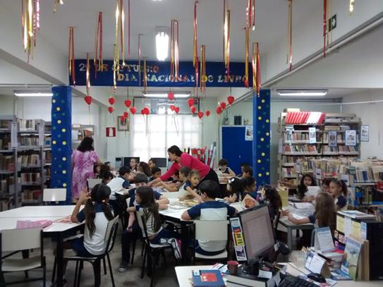 Rede de bibliotecas do Colégio Santa Maria promove o acesso à cultura e lazer (Foto: Divulgação)