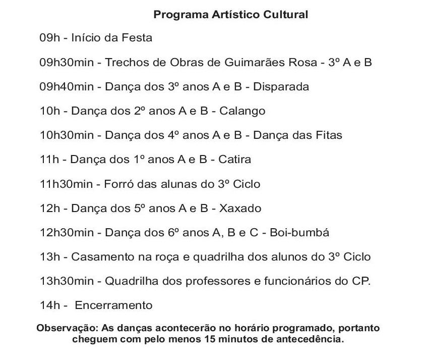 Festa Julina da UFMG
