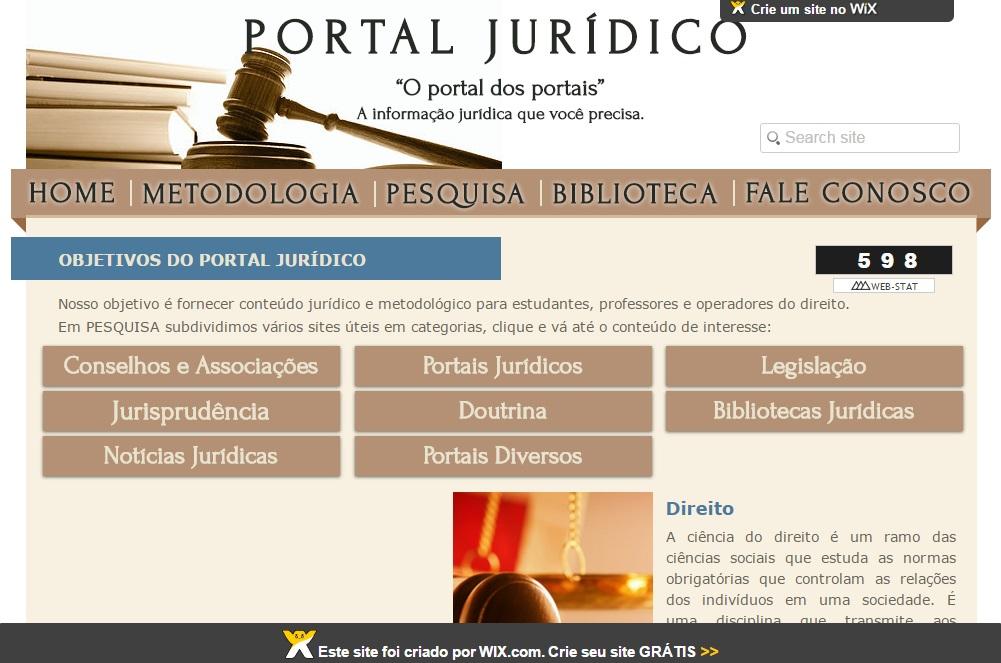 PORTAL JUR+ìDICO