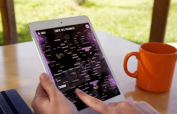 Via Fábula desenvolveu aplicativo de livros digitais que de adaptam (Foto: Reprodução/Via Fábula)