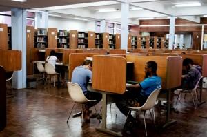 As bibliotecas da Universidade buscam a interação com a sociedade (Foto: Divulgação)