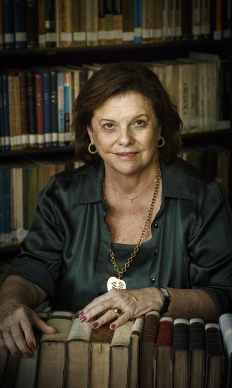 Helena Severo, nova presidente da Biblioteca Nacional, planeja exposições e vai investir na reforma do prédio (Foto: Fernando Lemos)