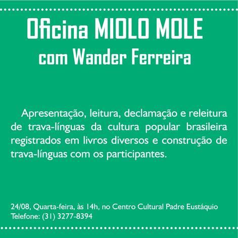 Oficina Miolo Mole Wander Ferreira