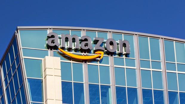 Escritório da Amazon, em Santa Clara, na Califórnia, Estados Unidos (Foto: Ken Wolter/ShutterStock)