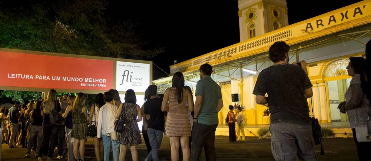 Fliaraxá, em 2014: evento já reuniu mais de 15 mil pessoas desde a sua criação (Foto: Jackson Romanelli / Jackson Romanelli/Infinito)