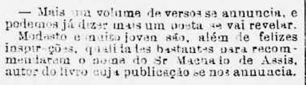 'Correio Mercantil', 20 de agosto de 1858 (Foto: Reprodução)