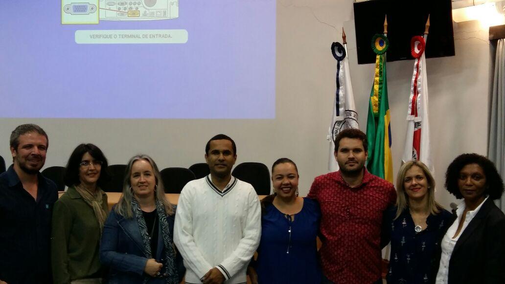 Conselheiros do CRB-6 e bibliotecários da UFMG participaram da organização do Seminário