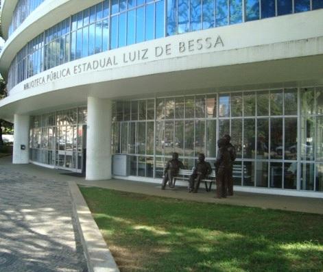 Biblioteca Pública Estadual Luiz de Bessa (Foto: Divulgação)